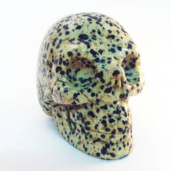 Gifts from the Earth Gemstone skull 2