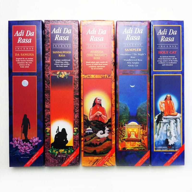 Adi Da Rasa Incense Gifts From The Earth Geologic
