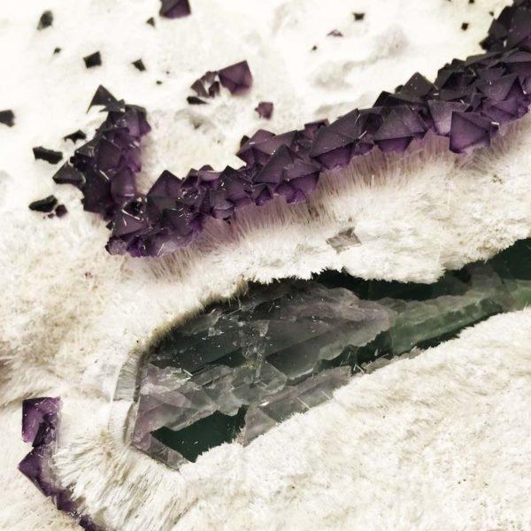 Octahedron Fluorite , China