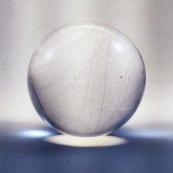 Quartz w/ Rutile Sphere