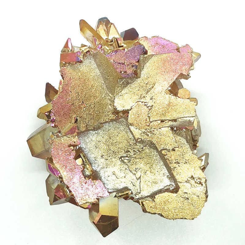 Dusk Quartz: Sunset Aura Quartz - Gifts From The Earth